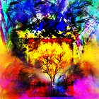 The Flaming Tree by chitrali