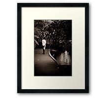 Cold Comfort Framed Print