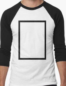 THE 1975 - BLACK RECTANGLE Men's Baseball ¾ T-Shirt