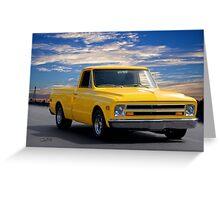 1968 GMC 'Jimmy' Pickup Truck Greeting Card