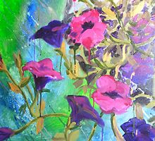 Hanging Basket by Tracy Manning