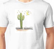 Saguaro Moon & Stars Unisex T-Shirt