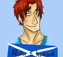 Allistor S. Kirkland by Alana Bell