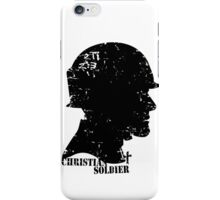 CHRISTIAN SOLDIER iPhone Case/Skin