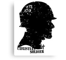 CHRISTIAN SOLDIER Canvas Print