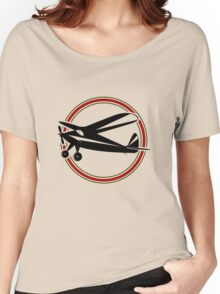 Vintage airplane Women's Relaxed Fit T-Shirt