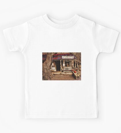 Luckenbach Post Office Kids Tee