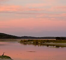 Sunset at Prawn Rock Channel by pennyswork