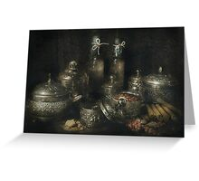 Spice market Greeting Card