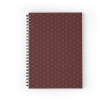 Electric Snowflake Spiral Notebook