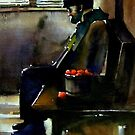2008 Lonely (Watercolor) by BuaS