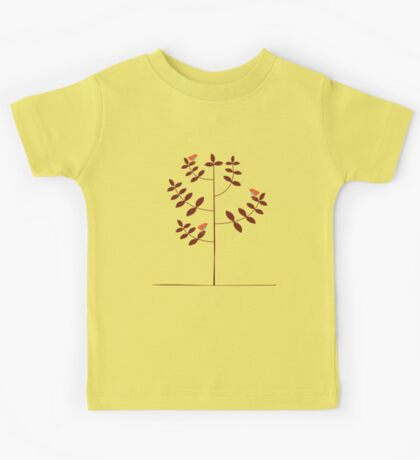 birds on tree Kids Tee