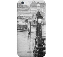 Snowfall in Edinburgh iPhone Case/Skin
