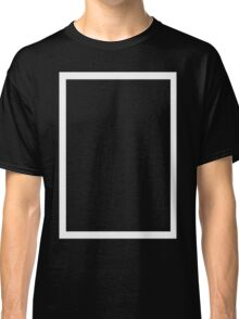 THE 1975 - WHITE RECTANGLE Classic T-Shirt