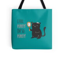 Catty Thoughts! Tote Bag