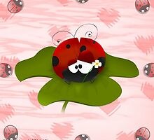 Silly Ladybug by Edmond  Hogge