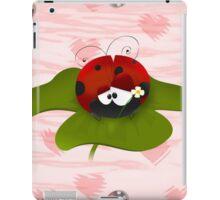 Silly Ladybug iPad Case/Skin