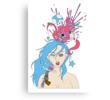 Mind Splat Canvas Print