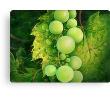 """The Grapes"" Canvas Print"