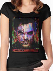 Dexter Morgan.The Quiet Ones. Women's Fitted Scoop T-Shirt
