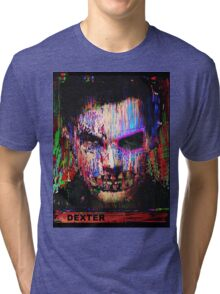 Dexter Morgan.The Quiet Ones. Tri-blend T-Shirt