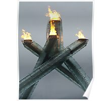 Olympic Cauldron 2010 Poster