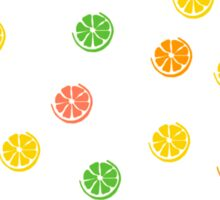 Citrus pattern Sticker