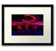 Trooper Dance Party Framed Print