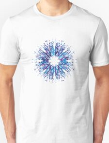 Vector Snowflake Unisex T-Shirt