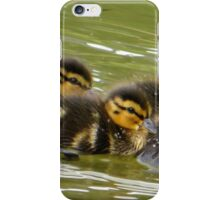 Little Ducklings Happy Together iPhone Case/Skin