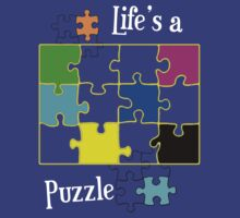 Life's a Puzzle by Silvia Ganora