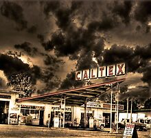 Caltex, Service Station, Australia by Dane Walker