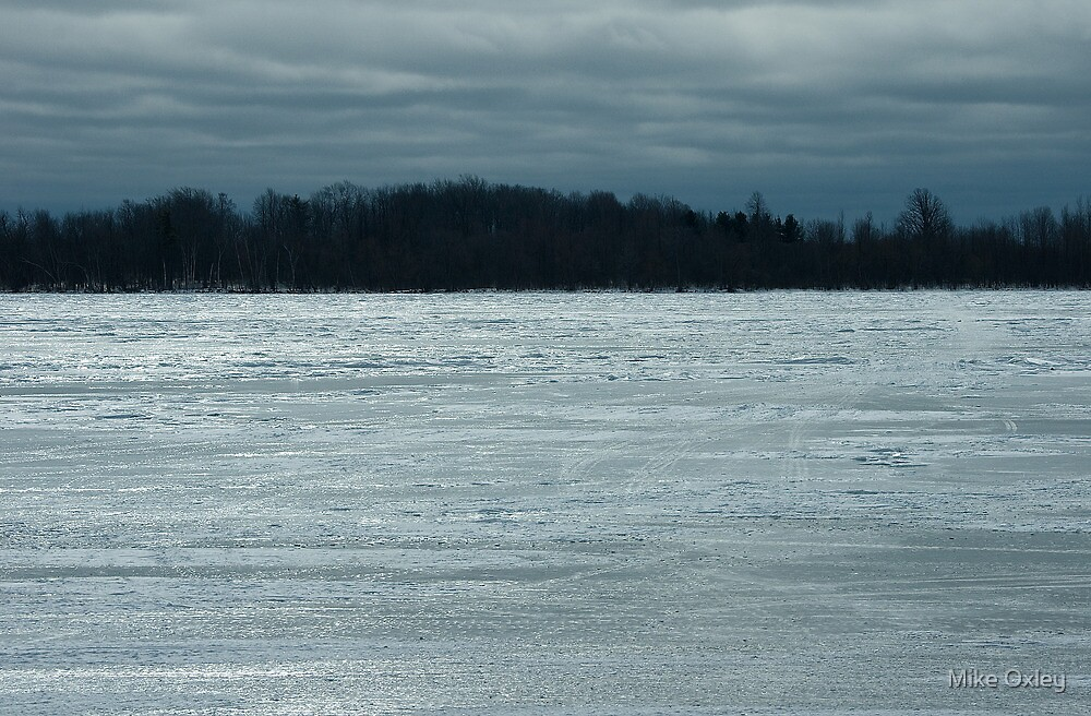Saint Lawrence River by Mike Oxley