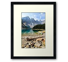 Moraine Lake Banff National Park Framed Print