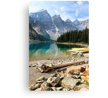 Moraine Lake Banff National Park Canvas Print
