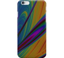Abstract Peacock Colors iPhone Case/Skin