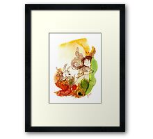 """PEEKABOO"" from the series ""Angels of Protection"" for Kids Framed Print"