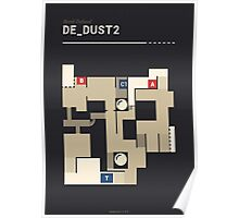 Counter-Strike de_dust2 Poster
