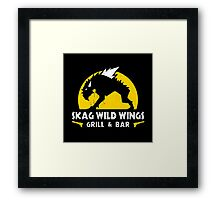 Skag Wild Wings Framed Print