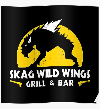 Skag Wild Wings Poster