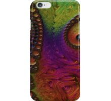 Abstract Tentacle Swirl iPhone Case/Skin
