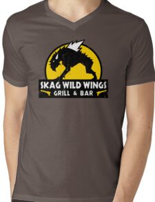 Skag Wild Wings Mens V-Neck T-Shirt
