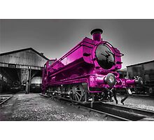 The Pink Pannier Photographic Print