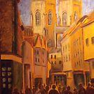 York street scene by Ivor