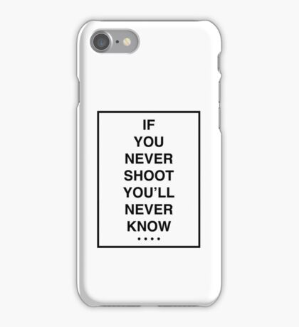 THE 1975 - ROBBERS BLACK FONT iPhone Case/Skin