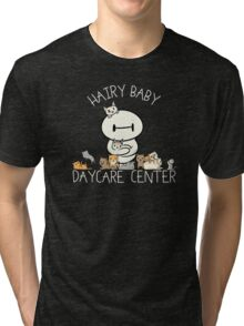 Hairy Baby Daycare Center Tri-blend T-Shirt