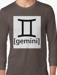 gemini Long Sleeve T-Shirt