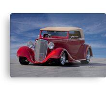 1934 Chevrolet Phaeton Metal Print