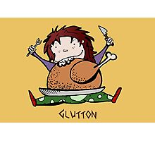 Glutton Lux Photographic Print