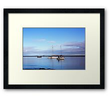 When The Boat Comes In Framed Print